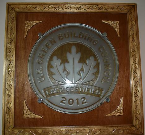 LEED plaque.JPG